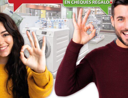 SORTEAMOS MÁS DE 6.000 EUROS EN CHEQUES REGALO