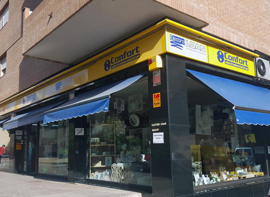 ACEAR. Agustí Electrodomésticos Fraga, Huesca.