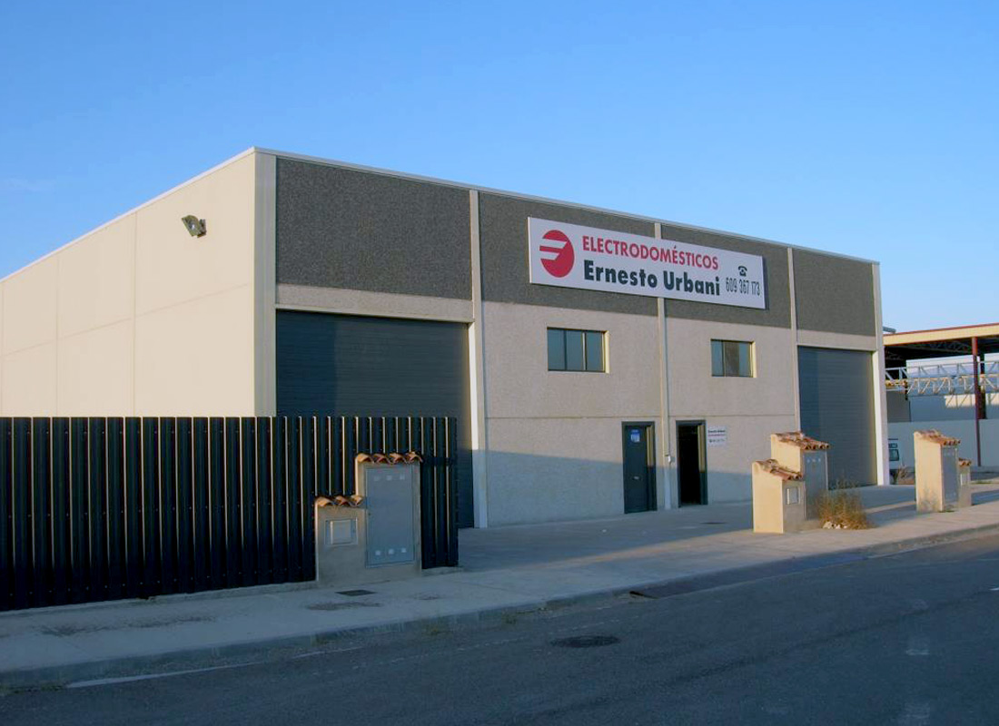 ACEAR. Electrodomésticos Ernesto Urbani. Magallón, Zaragoza.