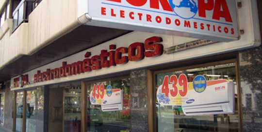 ACEAR. Electrodomésticos Europa. Zaragoza.