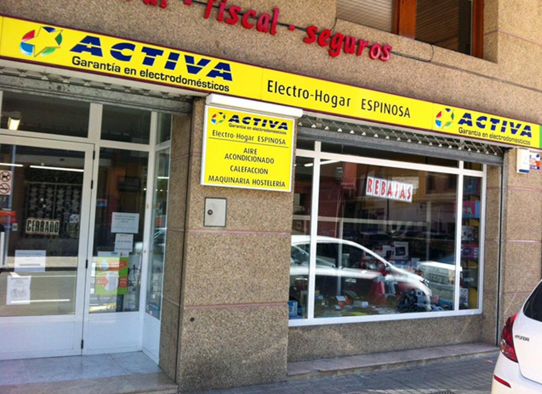 ACEAR. Electro Hogar Espinosa. Jaca, Huesca.