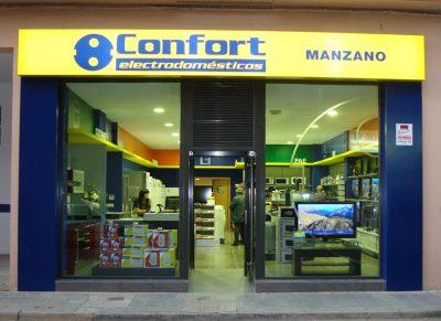 ACEAR. Electrodomésticos Manzano. Ejea de los Caballeros, Zaragoza.