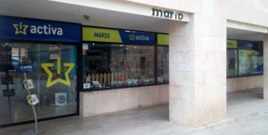 ACEAR. Mario Electrodomésticos, Alcañiz, Teruel.
