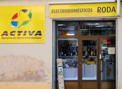 ACEAR. Electrodomésticos Roda. Valderrobres, Teruel.