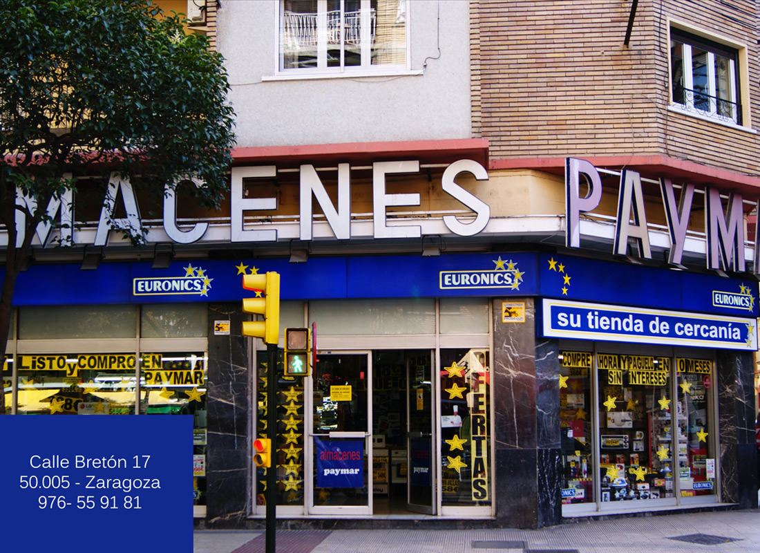 ACEAR. Almacenes Paymar. Calle Bretón, 17. Zaragoza.