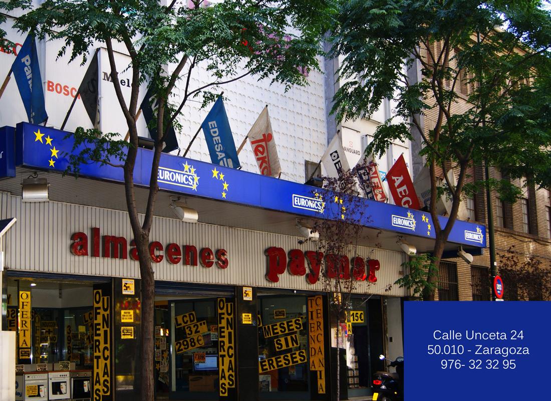 ACEAR. Almacenes Paymar. Calle Unceta, 24. Zaragoza.