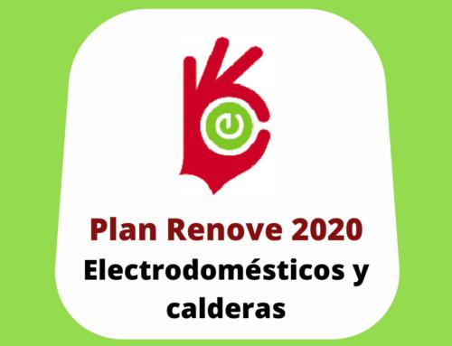 Arranca el Plan Renove de Electrodomésticos y Calderas 2020