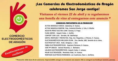 ACEAR. Promociones. Promoción San Jorge Regalo de Botella de Vino Huesca