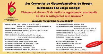 ACEAR. Promociones. Promoción San Jorge Regalo de Botella de Vino Teruel